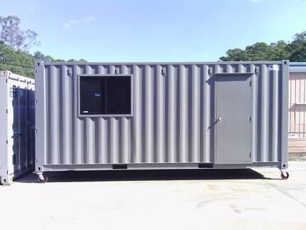 20ft shipping container site shed/office