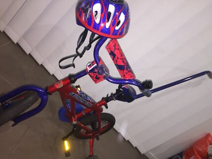 Kids transformers bike excellent condition