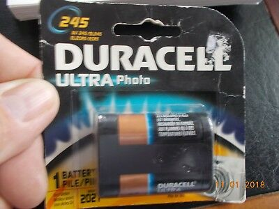 NOS Package of 1 Duracell Ultra Photo 245 Dated 2021 for sale  Shipping to India