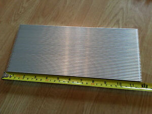 Large Aluminium LED Heatsink (300mm x 127mm x 8mm) UK SELLER 30W, 36W
