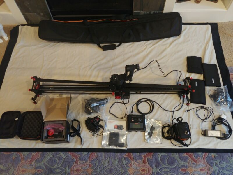 Konova K2 Motorized 80cm Master Pan Bundle Slider Bundle - Extras, Duplicates