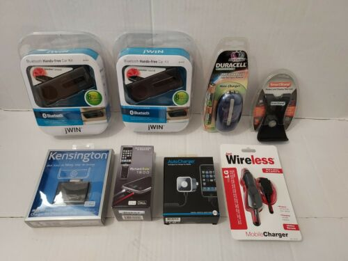Cell Phone Accessories Lot. Chargers, Battery Backups & more. New Old Stock.