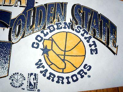 NEW 1990 ~VINTAGE~ DEAD STOCK GOLDEN STATE WARRIORS PENNANT FULL SIZE BASKETBALL