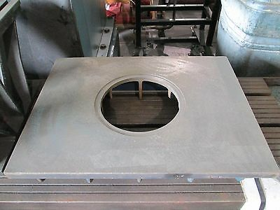 Cast Iron Surface Plate 25 14 X 17 14 X 5 12 Thickness