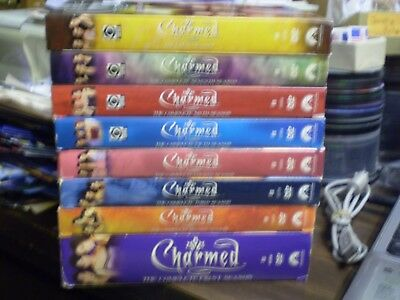 Halloween Movies 1-8 ((8) Charmed Season DVD Lot: Seasons 1-8     Complete Series    )