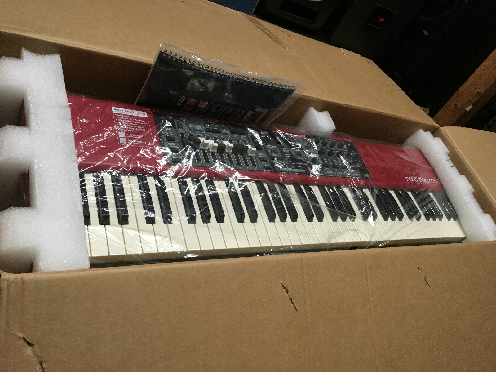 Nord Electro 5D 73 key Keyboard Piano Drawbars Organ SW73,NE