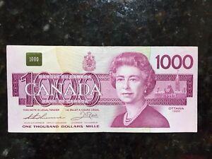 1988 $1000 bill