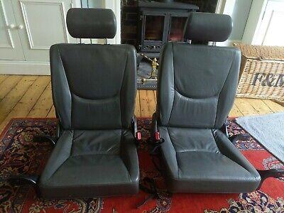 Mercedes W163 ML rear seats - Grey leather 3rd row seats
