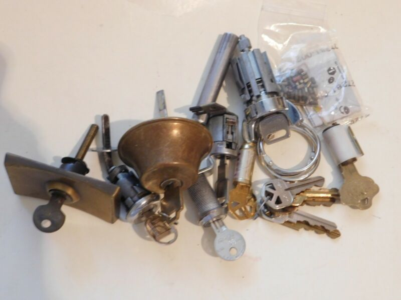 lot # 120 student package for re keying lock cylinders & more
