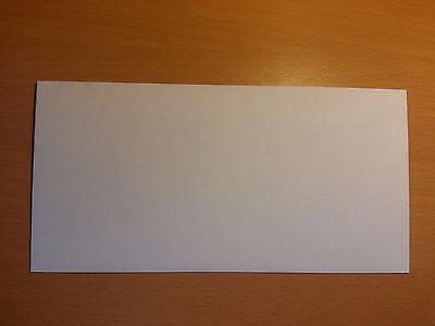 50 x Briefumschläge Umschlag Brief DIN lang 110x220mm selbstklebend ohne Fenster