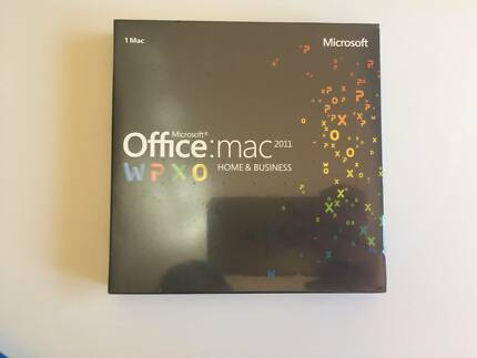 Band new - Microsoft Office 2011  Mac Home and Business