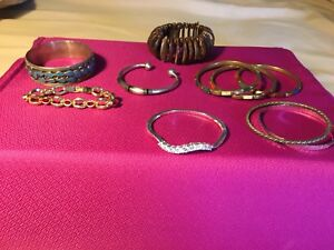 Various bracelets; various prices . ask for individual prices
