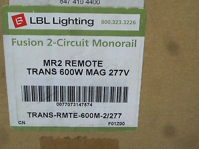 NEW ELG  DUAL 300W REMOTE MAGNETIC TRANSFORMER LBL LIGHTING 250AT2X300T277 600W 600w Remote Magnetic Transformer