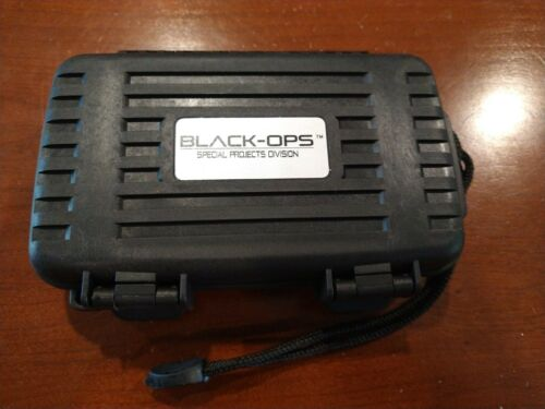 Black-Ops X4 Travel Cigar Caddy Humidor Water/Crush proof Case-Brand NEW