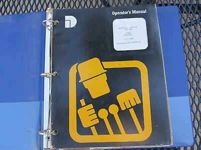IH International 412 Series B Scraper Owner Operators Manual + Diesel Engine Cat