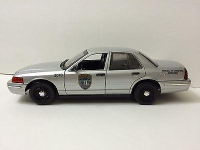 1/18 Puerto Rico Police. FCV FANTASMA. 1 SET For 2 CARS. For Silver n White Cars