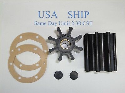 2 Ea Impeller Kit Fits Cummins Marine Diesel CMD4.2L D254 Mercruiser 47-816814T