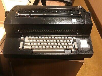 Vintage Ibm Selectric Ii Correcting Electric Typewriter- Black