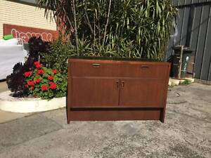mid century cabinet,sideboard, eames era sideboard WE CAN DELIVER Brunswick Moreland Area Preview
