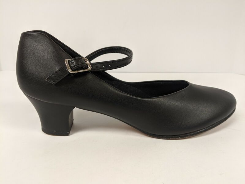Capezio Leather Dance Shoe, Black, Women