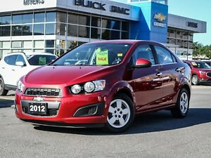 2012 Chevrolet Sonic LT, AUTO, HEATED SEATS, A/C *IMMACULATE*