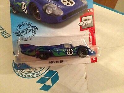 Hot Wheels Porsche917 LH  Blue/Teal