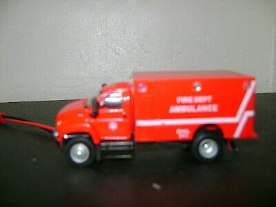 Ho scale Ambulance with working flashing lights Ho Scale Working