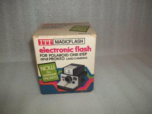 ITT Magicflash Electronic Flash for Polaroid Sonar Pronto! and One Step
