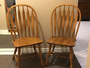 Large Arrowback Chairs