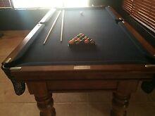 Quality true line billiards slate  pool table for sale Jandakot Cockburn Area Preview
