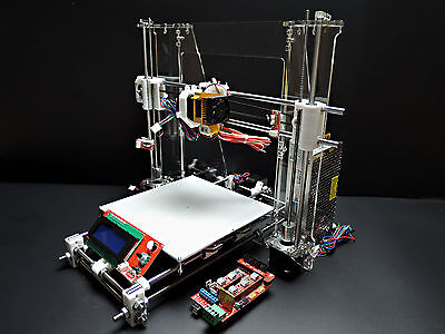 [Sintron] 3D Printer Full Complete Kit for Reprap Prusa i3 ,MK3,LCD,MK8 Extruder