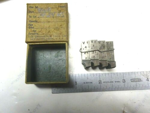 NEW USA MADE .400-24 PROJECTION GEOMETRIC CHASERS FOR A 9/16 D  DIE HEAD