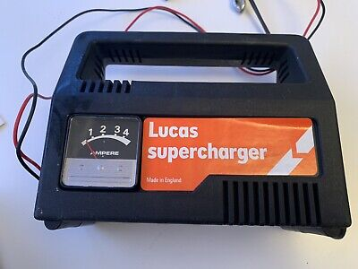Lucas 4amp Battery Charger Supercharger 12v