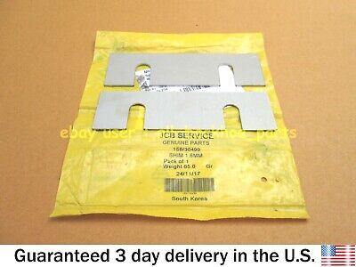Jcb Loadall - Genuine Jcb Wear Pad Shim 1.6 Mm Set Of 2 Pcs. Part 15830499