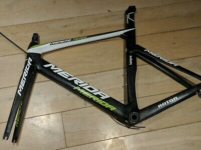 Merida Reacto Team E carbon lightweight racing bicycle frame Size S / M Di2