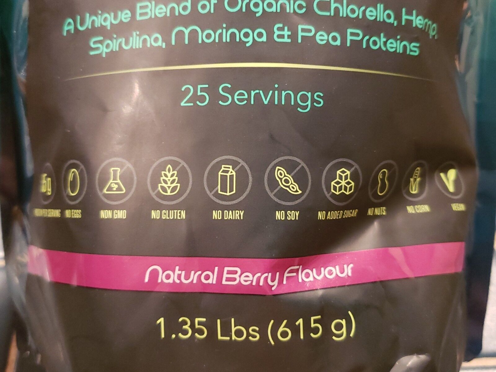 Paleoethics - Ultimate VEGAN PROTEIN - Natural Berry - 1.35 lbs - Exp 9/2021 3