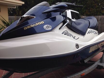 LOW HOURS! Immaculate SEADOO GTX 3 Seater 4-tec Heritage Park Logan Area Preview