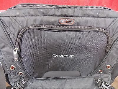 Oracle Elleven Checkpoint-Friendly Laptop Computer Messenger Bag - Black ()