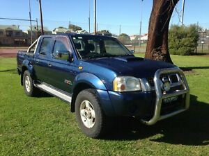 2009 NISSAN NAVARA ST-R MANUAL DUAL CAB UTE $7290 with 1 YEAR WARRANTY Leederville Vincent Area Preview