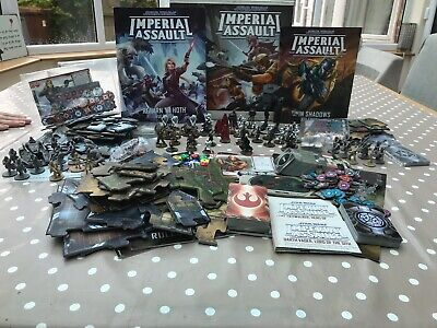 Star Wars Imperial Assault Boxed Core Game expansions Han Leia R2 3po Boba Fett