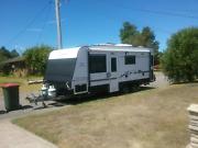 Caravan 20ft 6in Semi off road, a real travellers van.  Raymond Terrace Port Stephens Area Preview