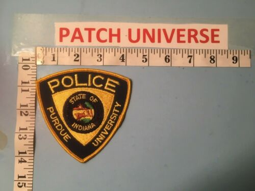 PURDUE UNIVERSITY  POLICE  SHOULDER  PATCH  C033
