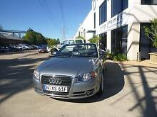 2007 Audi A4 Convertible Homebush West Strathfield Area Preview