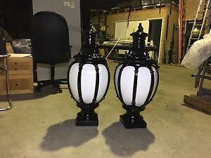Decorative Fence or bollard Old English Lights Osborne Park Stirling Area Preview