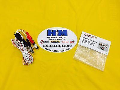 Honda Dc D.c. Generator Charging Cord Eu1000i Eu2000i Eu3000is W Large Clamp