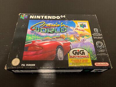 Cruis'n World Nintendo 64 GIG PAL ITA nuovo N64 Midway New