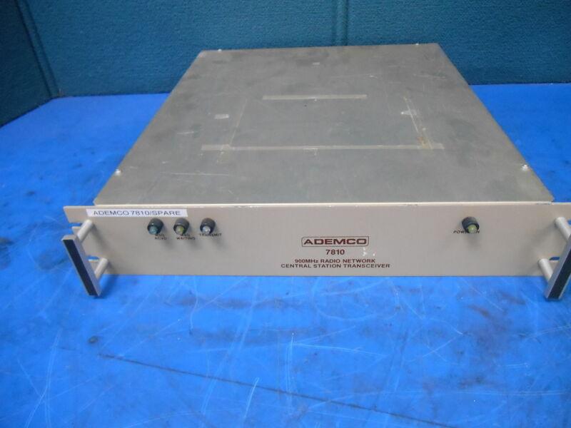 Ademco 900MHz Radio Network Central Station Transceiver 7810 SN 00402CS