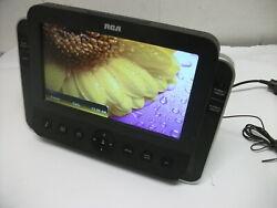Audiovox RC85i RCA Alarm Clock AM/FM Radio for iPod/iPhone SD Slot Music LCD