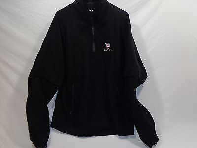 "Fila ""USTA Southern"" Tennis Jacket with zip off sleeves XXL Black"
