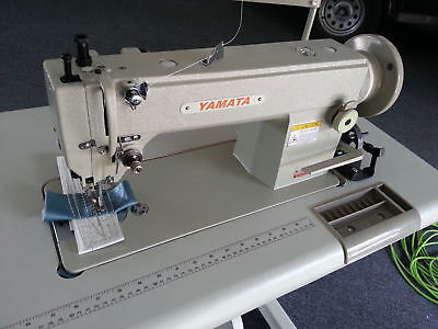 Yamata Fy5318 Walking Foot Sewing Machine Fy-5318 Servo Motorstand Commercial